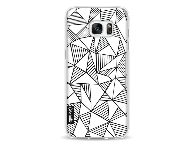 Casetastic Softcover Samsung Galaxy S7 Edge - Abstraction Lines White