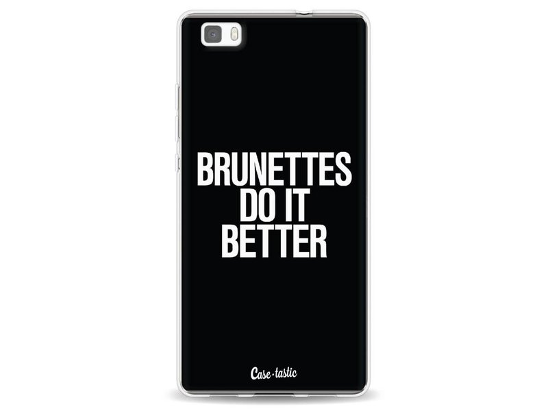 Casetastic Softcover Huawei P8 Lite - Brunettes Do It Better