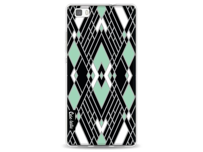 Casetastic Softcover Huawei P8 Lite - Art Deco Mint