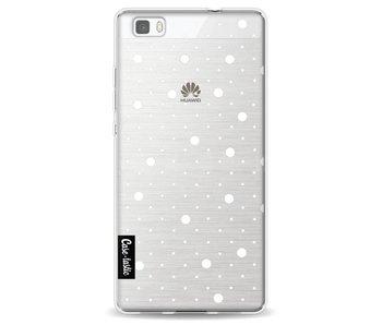 Pin Points Polka Transparent - Huawei P8 Lite