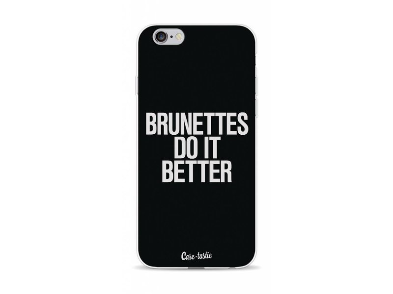 Casetastic Softcover Apple iPhone 6 / 6s - Brunettes Do It Better