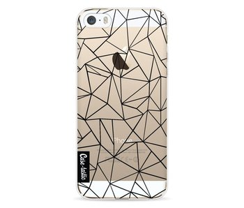Abstraction Outline Black Transparent - Apple iPhone 5 / 5s / SE