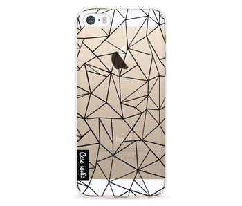 Abstraction Outline Black Transparent - Apple iPhone 5 / 5s / SE