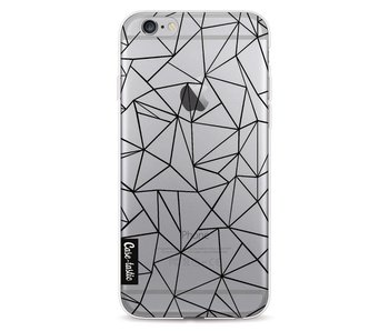 Abstraction Outline Black Transparent - Apple iPhone 6 / 6s