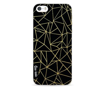Abstraction Outline Gold - Apple iPhone 5 / 5s / SE