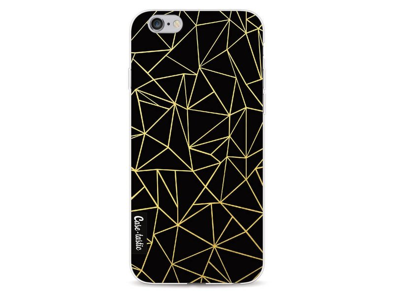 Casetastic Softcover Apple iPhone 6 / 6s  - Abstraction Outline Gold