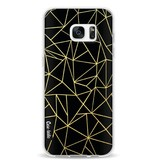 Casetastic Softcover Samsung Galaxy S7 Edge - Abstraction Outline Gold