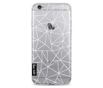 Abstraction Outline White Transparent - Apple iPhone 6 / 6s