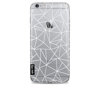 Abstraction Outline White Transparent - Apple iPhone 6 Plus / 6s Plus