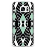 Casetastic Softcover Samsung Galaxy S7 - Art Deco Mint