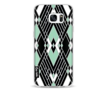 Art Deco Mint - Samsung Galaxy S7 Edge