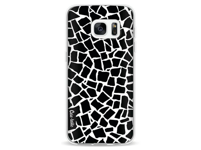 Casetastic Softcover Samsung Galaxy S7 - British Mosaic Black