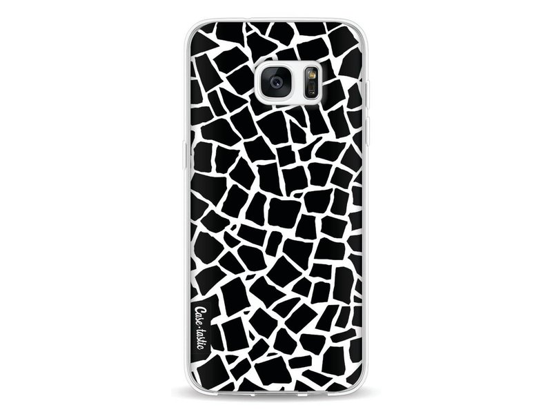 Casetastic Softcover Samsung Galaxy S7 Edge - British Mosaic Black