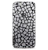 Casetastic Softcover Apple iPhone 6 / 6s  - British Mosaic Black Transparent