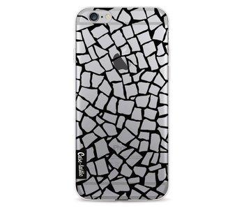 British Mosaic Black Transparent - Apple iPhone 6 / 6s