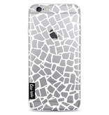 Casetastic Softcover Apple iPhone 6 / 6s  - British Mosaic White Transparent