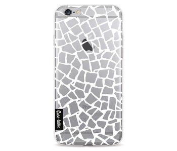 British Mosaic White Transparent - Apple iPhone 6 / 6s
