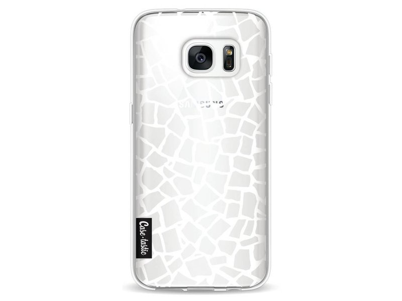 Casetastic Softcover Samsung Galaxy S7 - British Mosaic White Transparent