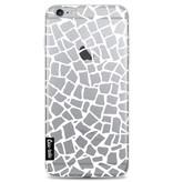 Casetastic Softcover Apple iPhone 6 Plus / 6s Plus - British Mosaic White Transparent