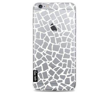 British Mosaic White Transparent - Apple iPhone 6 Plus / 6s Plus