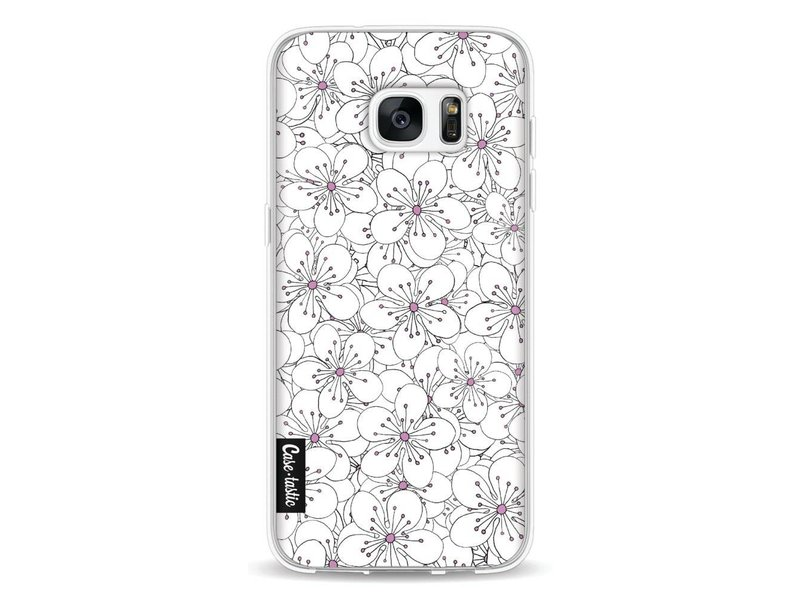 Casetastic Softcover Samsung Galaxy S7 Edge - Cherry Blossom Pink