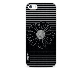 Daisy Grid Black - Apple iPhone 5 / 5s / SE