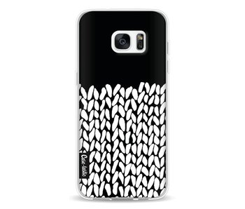 Half Knit Black - Samsung Galaxy S7 Edge
