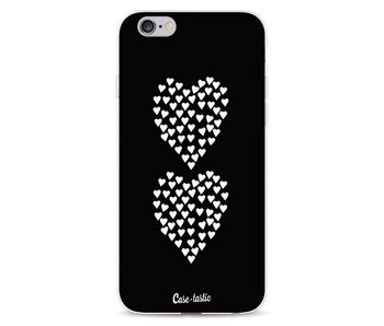 Hearts Heart 2 Black - Apple iPhone 6 / 6s