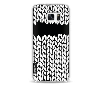 Missing Knit Black - Samsung Galaxy S7 Edge