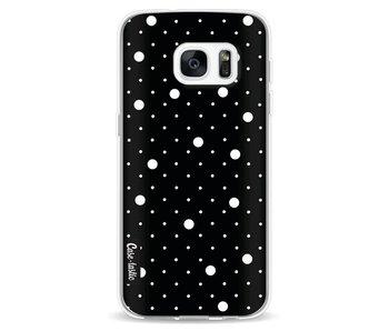 Pin Points Polka Black - Samsung Galaxy S7