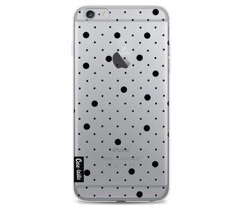 Pin Points Polka Black Transparent - Apple iPhone 6 Plus / 6s Plus