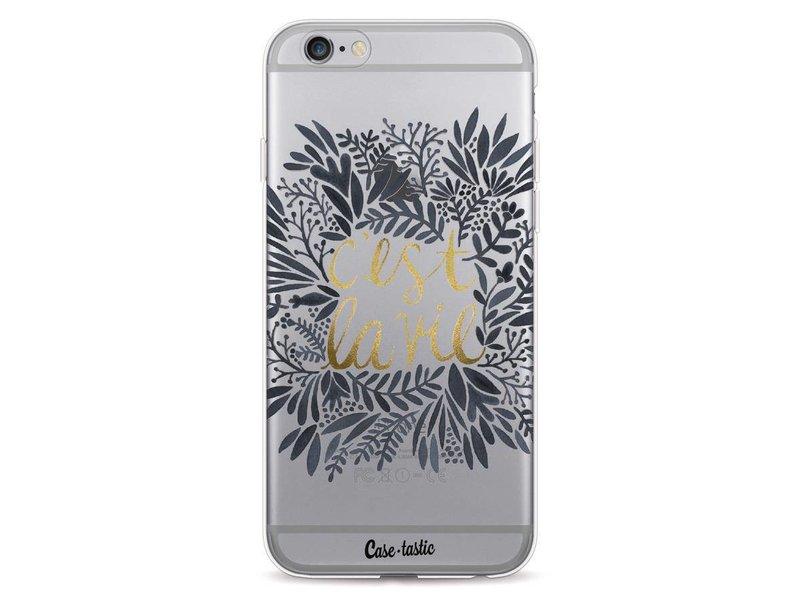 Casetastic Softcover Apple iPhone 6 / 6s  - Cest La Vie BlackGold