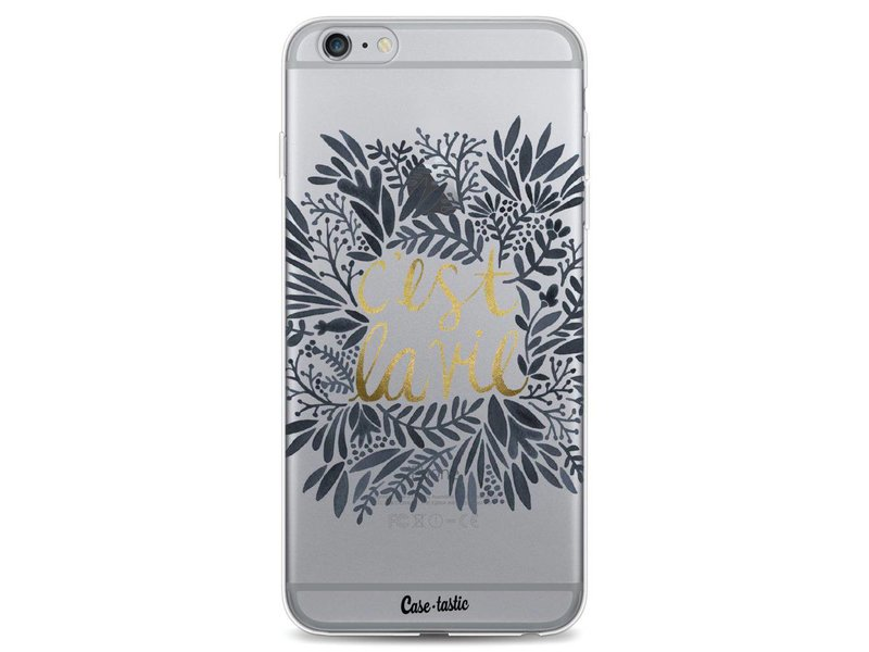 Casetastic Softcover Apple iPhone 6 Plus / 6s Plus - Cest La Vie BlackGold