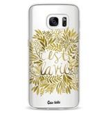 Casetastic Softcover Samsung Galaxy S7 - Cest La Vie Gold