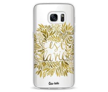 Cest La Vie Gold - Samsung Galaxy S7