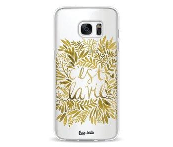 Cest La Vie Gold - Samsung Galaxy S7 Edge