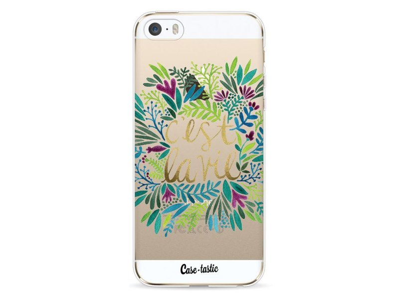 Casetastic Softcover Apple iPhone 5 / 5s / SE - Cest La Vie Multi