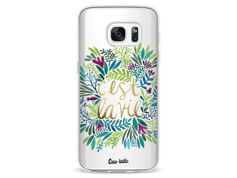 Casetastic Softcover Samsung Galaxy S7 - Cest La Vie Multi