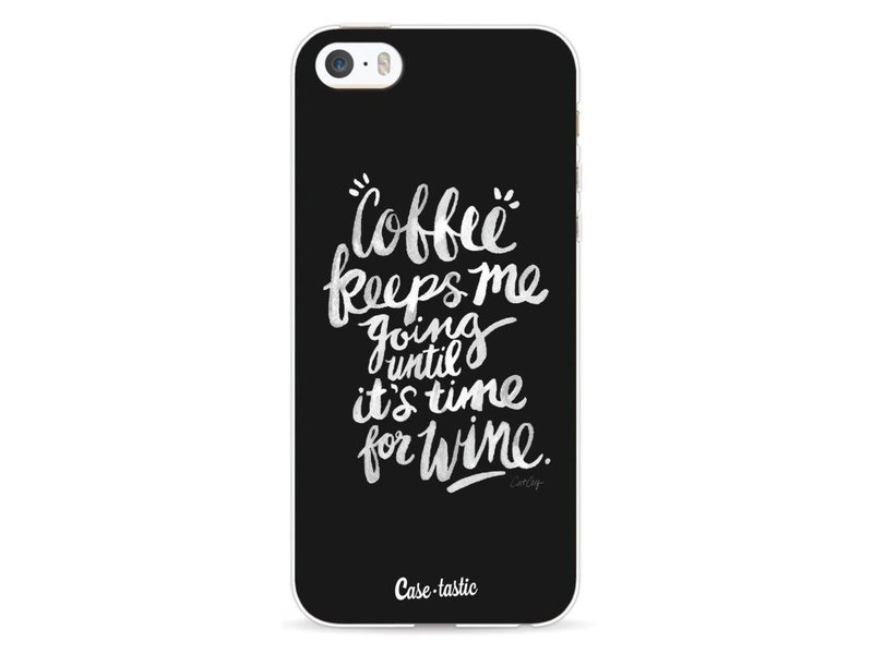 Casetastic Softcover Apple iPhone 5 / 5s / SE - Coffee Wine White