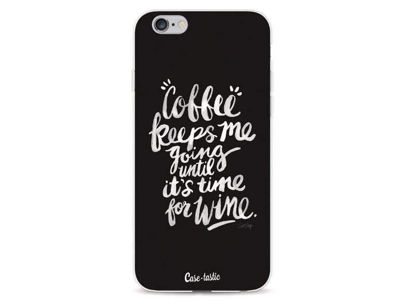 Casetastic Softcover Apple iPhone 6 / 6s  - Coffee Wine White
