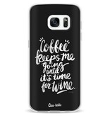 Casetastic Softcover Samsung Galaxy S7 - Coffee Wine White