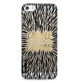 Casetastic Softcover Apple iPhone 5 / 5s / SE - Creme de la Creme Black