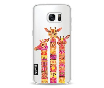 Fiery Giraffes - Samsung Galaxy S7 Edge