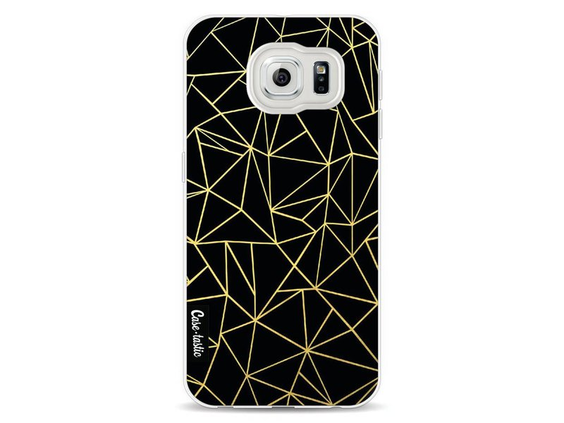 Casetastic Softcover Samsung Galaxy S6 - Abstraction Outline Gold