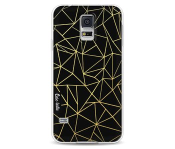 Abstraction Outline Gold - Samsung Galaxy S5