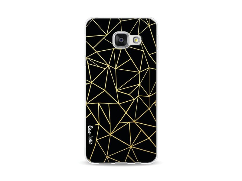 Casetastic Softcover Samsung Galaxy A3 (2016) - Abstraction Outline Gold