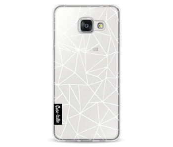 Abstraction Outline White Transparent - Samsung Galaxy A3 (2016)