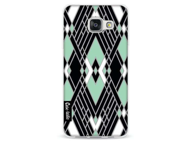 Casetastic Softcover Samsung Galaxy A3 (2016) - Art Deco Mint