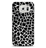 Casetastic Softcover Samsung Galaxy S6 - British Mosaic Black