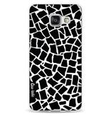 Casetastic Softcover Samsung Galaxy A3 (2016) - British Mosaic Black